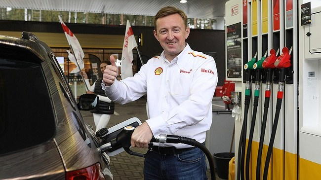 продажи топлива Shell V-Power Diesel