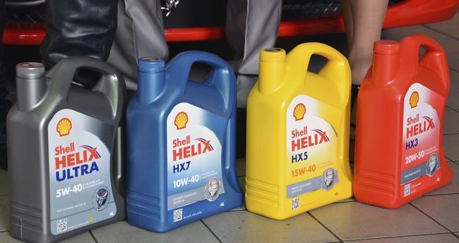 Линейка масел серии Shell Helix