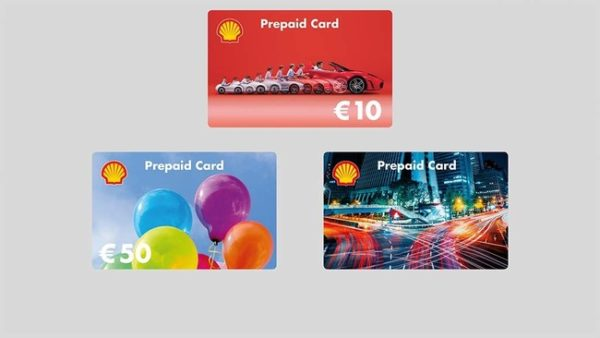 Shell Prepaid Card