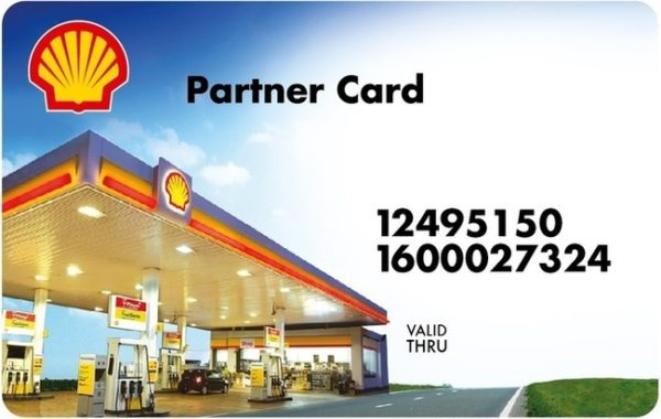 Shell Partner Card